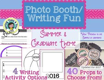 End of Year Writing & Photo Booth Fun