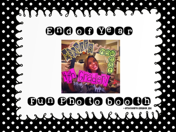 End of Year Photobooth