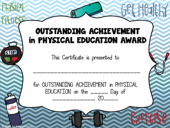 End of Year Physical Education Award