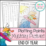 End of Year Activity - Plotting Points - Mystery Picture