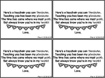 End of Year Poem FREEBIE!