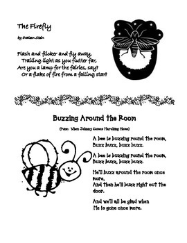 End of Year Poem: Firefly & Bee Poems