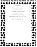 End of Year Poem Kindergarten Craftivity