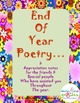 End of Year Poetry