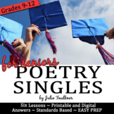End of Year Poetry, Poetry Month Activities, BUNDLE, Surviving Senioritis