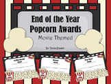 End of Year Popcorn Awards Movie Themed