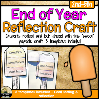 End of Year Counseling Popsicle Craft Activity