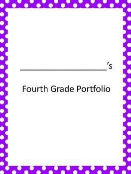 End of Year Portfolio Party-Kids Self Evaluation