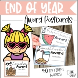 End of Year Award Postcards | Distance Learning