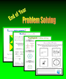 End of Year Problem Solving (Brainteasers, Patterns, Sequence, Word Puzzles)