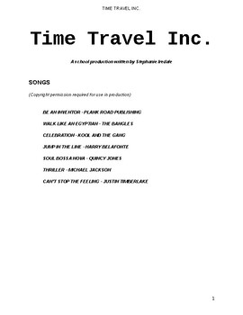 End of Year Production script - Time Travel Inc.