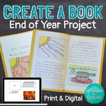 End of Year Project - Create a Book