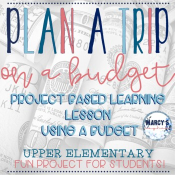 Math Project for Budgeting 3rd, 4th & 5th grade
