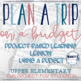 Math project 4th & 5th grade, Project Based Learning money budgeting worksheets