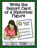 End of Year Project - Middle School - Report Card for a Historical Figure