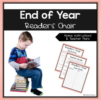 End of Year Reader's Chair Letter