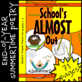 End-of-Year Readers' Theater-Summer Readers' Theater Poetry: School's Almost Out