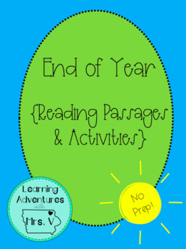End of Year Reading