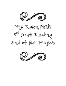 End of Year Reading Project