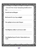 End of Year Reading Reflection-Freebie