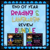End of Year Reading and Language Review for First Grade {BUNDLE}
