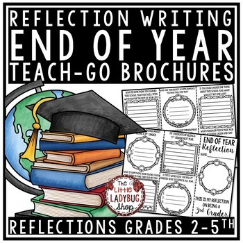 End of Year Reflection Activity Brochure -End of the Year Writing Activities