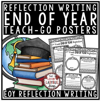 End of Year Reflection Activity Poster- Student End of the Year Writing Activity