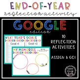End-of-Year Reflection Activity - Google Classroom