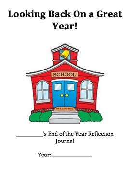 End of Year Reflection Book