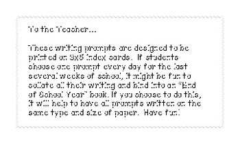 End of Year Reflection Writing Prompts