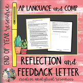 End of Year Reflection and Feedback Letter--Final Writing