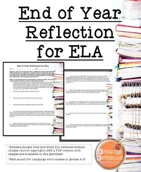 End of Year Reflection for ELA