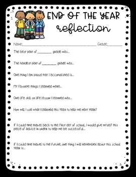 End of Year Reflections