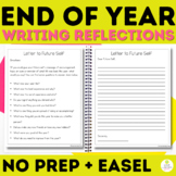 End of Year Writing Activities Letter to Future Student, F