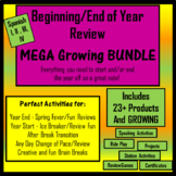 End of Year Review Activities MEGA Bundle- Spanish I, I & III