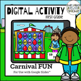 End of Year Review Digital Activity Google Classroom First Grade