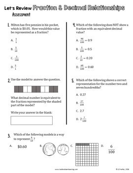 End of Year Review for Fourth Grade Math