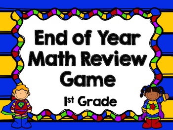 End of Year Review Game - 1st Grade