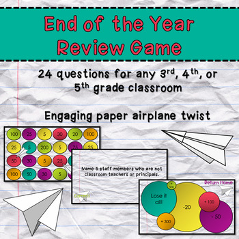 End of Year Review Game