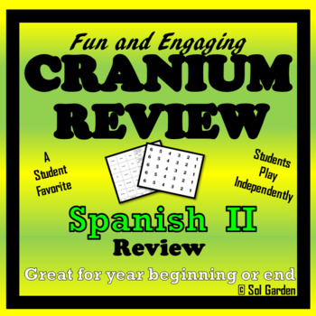 End of Year Review Game - Spanish II - Cranium