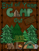 Camping Theme End of Year Review Games
