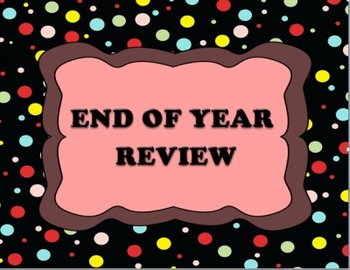 End-of-Year Review Level 1 Multiple Choice