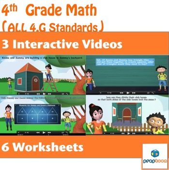 Geometry  for 4th Grade