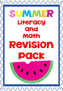 End of Year Revision Math and Literacy