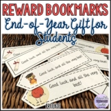 End-of-Year Reward Bookmarks for Students