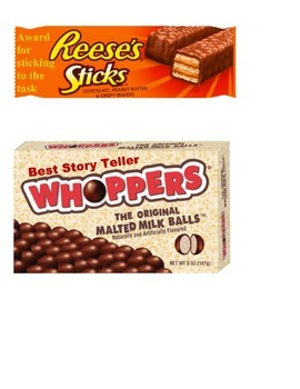 End of Year Reward Candy Bar Wrappers