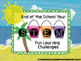 End of Year STEM Bundle - 3 Challenges