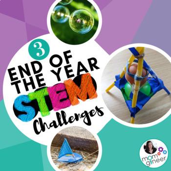 End of Year STEM Challenges BUNDLE