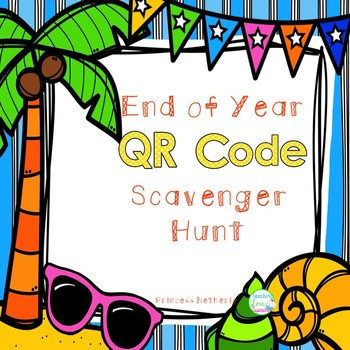 End of Year Scavenger Hunt