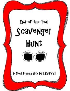 End-of-Year Scavenger Hunt
